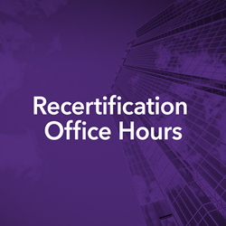 RecertificationOfficeHours