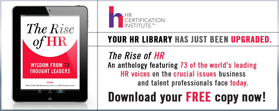 Rise of HR Wisdom from 73 Thought Leaders
